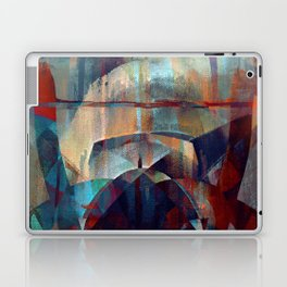 I face every hurdle, with a nervous state of mind Laptop & iPad Skin