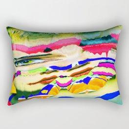 fluently Rectangular Pillow
