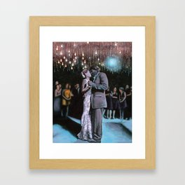 Kelley and Ryan's Wedding Framed Art Print