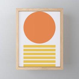 Geometric Form No.5 Framed Mini Art Print