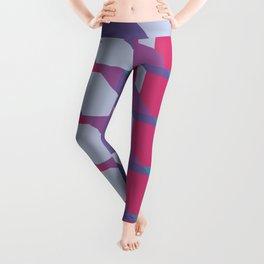 Abstract Drama #society6 #violet #pattern Leggings