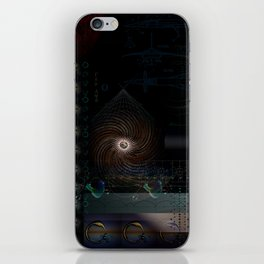 Engulfing the Iris iPhone Skin