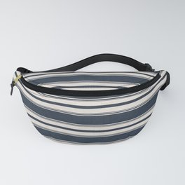 Classic Horizontal Stripe in Navy Fanny Pack