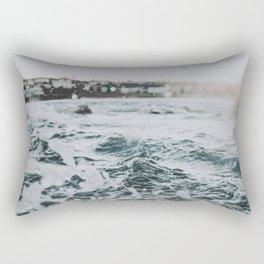 summer waves ii / bondi beach, australia Rectangular Pillow