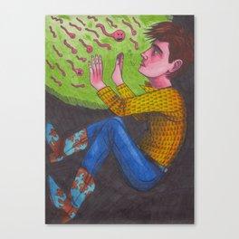 Man of War Canvas Print