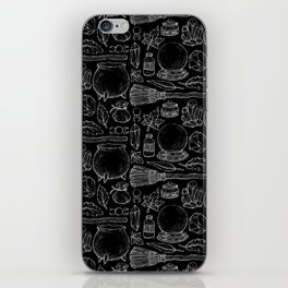 Witchcraft I [B&W] iPhone Skin