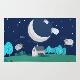 What The Sheep Do While You Sleep Rug