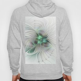 Fantasy Ways, Abstract Fractal Art Hoody