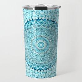 Coastal Spray Mandala Travel Mug