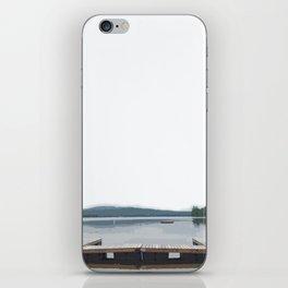 Crystal Lake, Maine iPhone Skin