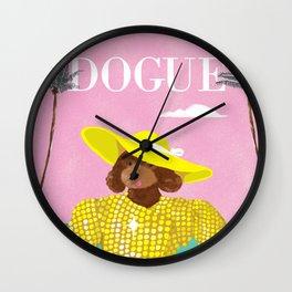 Dogue - Beverly Hills Wall Clock
