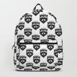 King raccoon Backpack