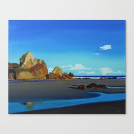 """By The Ocean"" Canvas Print"