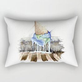 Take Care Rectangular Pillow