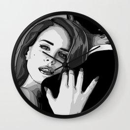 Lana Lanita del Rey Wall Clock