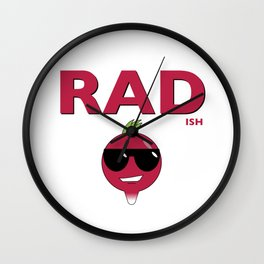 Rad...ish radish Wall Clock