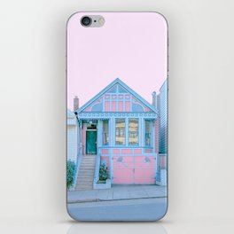 San Francisco Painted Lady Victorian House iPhone Skin
