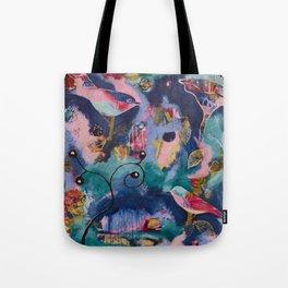 Winter's Dream Tote Bag