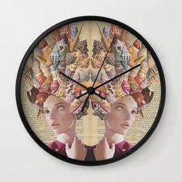 Shell Princess Wall Clock