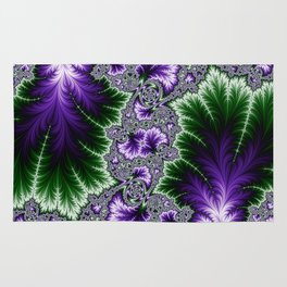 Cosmic Leaves Rug