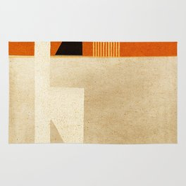 Solitaire du Figaro (ocre) Rug