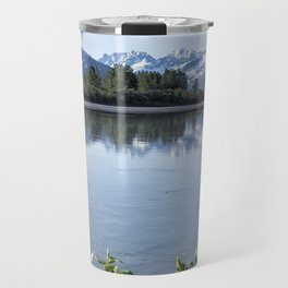Placer River at the Bend in Turnagain Arm, No. 1 Travel Mug