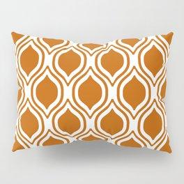 Texas longhorns orange and white university college texan football ogee Pillow Sham
