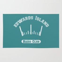 Edwards Island Radio Club Rug