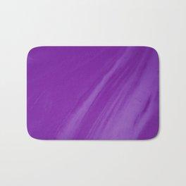 Blurred Violet Wave Trajectory Bath Mat