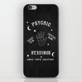 Psychic Readings Fortune Teller Art iPhone Skin