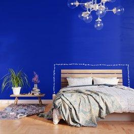 Solid Deep Cobalt Blue Color Wallpaper