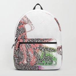 Tori Amos - word portrait Backpack