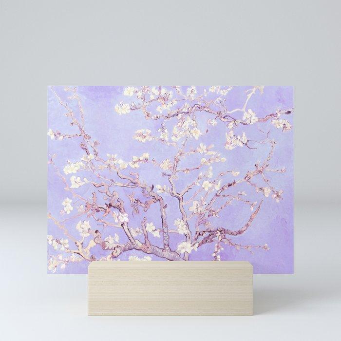 Vincent Van Gogh Almond Blossoms  Lavender Mini Art Print