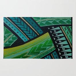 Green Tatau Rug
