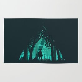 It's Dangerous To Go Alone Rug