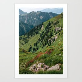 Switzerland I Art Print