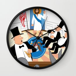 Everybody, Out! Wall Clock