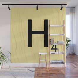 Scrabble H Decor, Scrabble Art, Large Scrabble Prints, Word Art, Accessories, Apparel, Home Decor Wall Mural