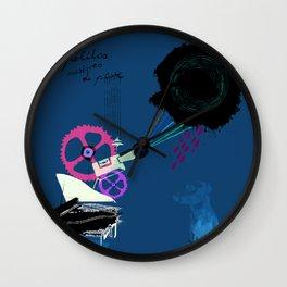Chapi Chapo - Les Petites Musiques de Pluie  Wall Clock