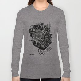 Freak Style Graphic Long Sleeve T-shirt