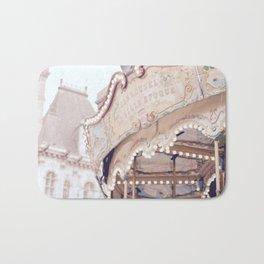 Classic Paris French Carousel Bath Mat