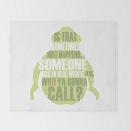 Who ya gonna call? Ghostbusters Tribute Throw Blanket