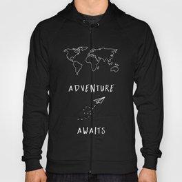 Adventure Map - Navy Blue Hoody
