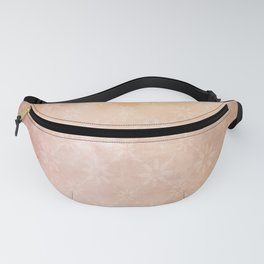 Pretty Vintage Floral Watercolor Pattern Fanny Pack