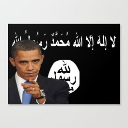 President Isis Canvas Print