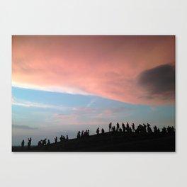 Belgrade Sunset Canvas Print
