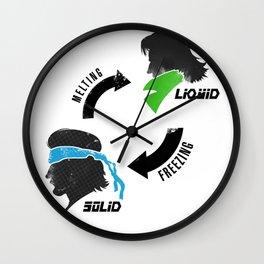 Metal Gear: Solid Liquid States Wall Clock