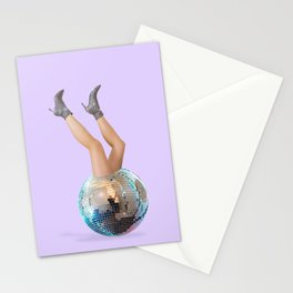 Disco Legs Stationery Cards