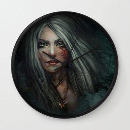 Cirilla - The Witcher Wall Clock
