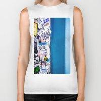 urban Biker Tanks featuring Urban by Maite Pons